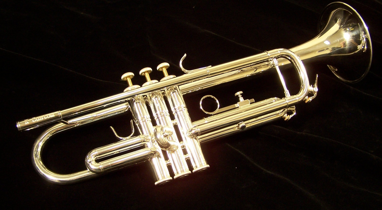 K.Custom Intermediate Silver Trumpet