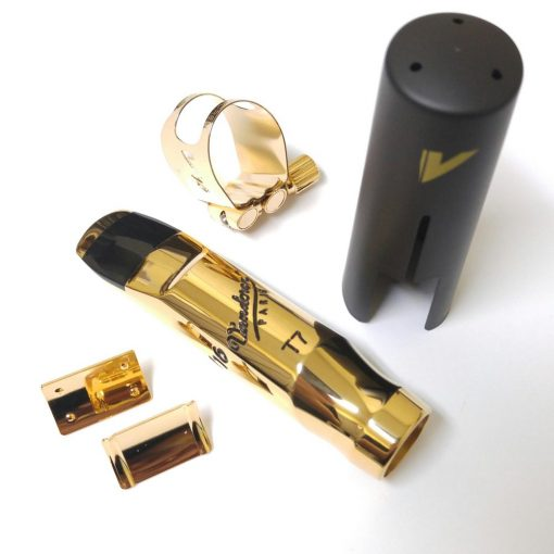 Vandoren V16 Metal Tenor Sax Mouthpiece - with optional Optimum Ligature