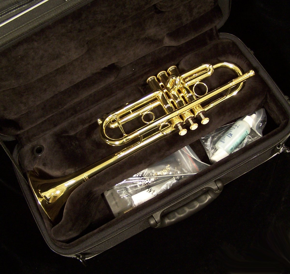 Carol Brass 4000h C Trumpet Affordable Performance