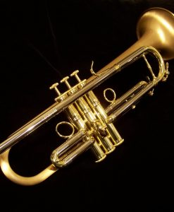 Carol Brass 5280L-GLT Professional Trumpet with Satin Lacquer Bell