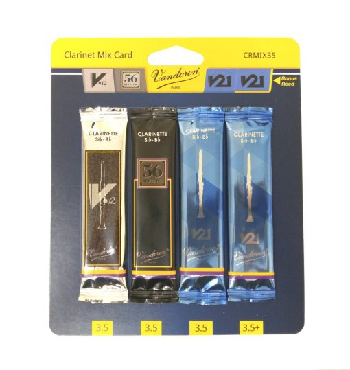 Vandoren Clarinet Reed Sample Kit