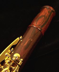 Backun Model F Clarinet - Cocobolo / Gold