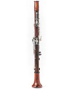 Backun Model F Clarinet - Cocobolo/Silver