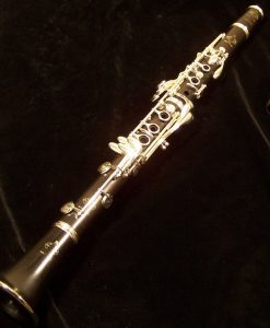 Used Buffet R13 Clarinet with Silver Keys, Completely Repadded