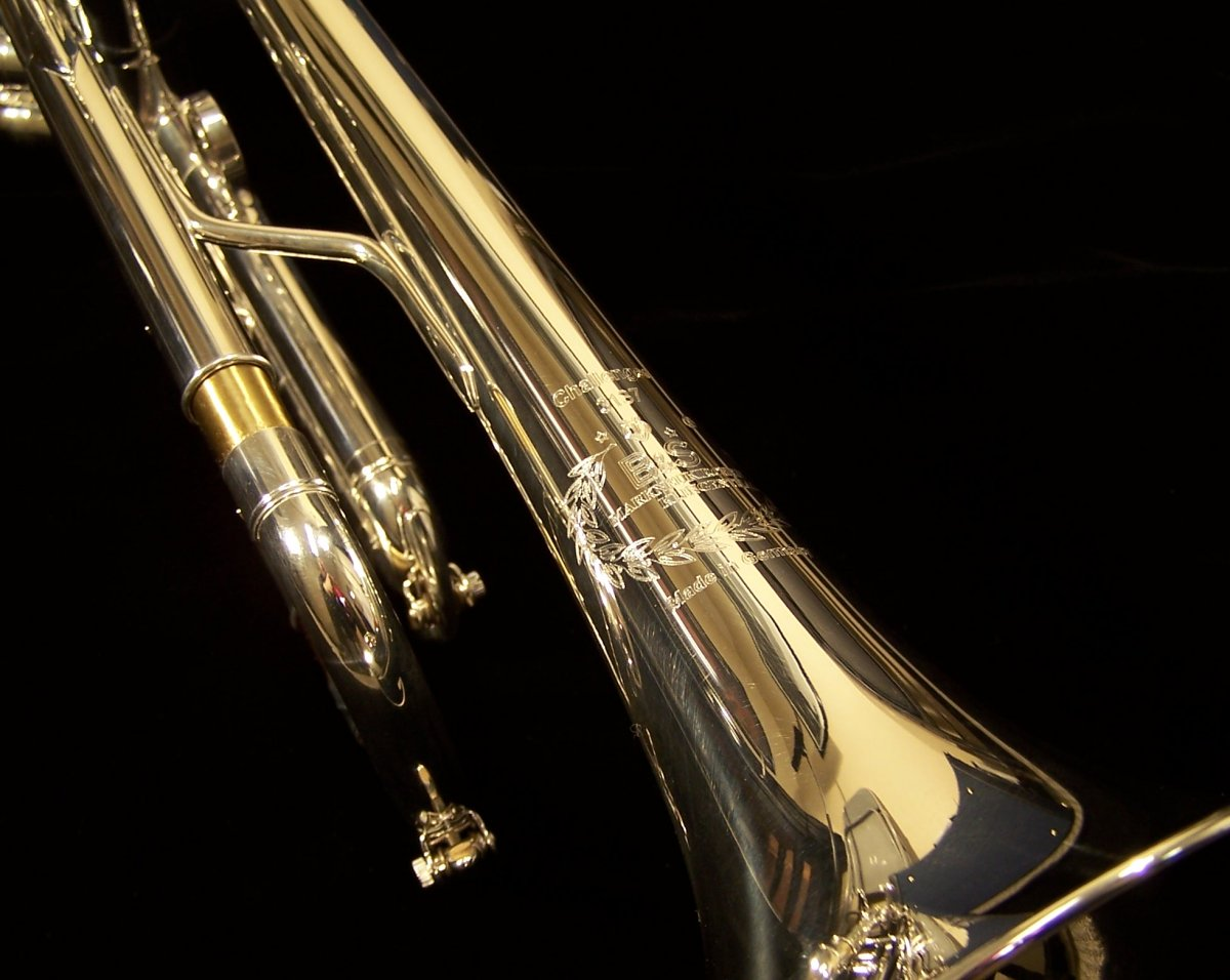 B&S Challenger Silver Professional Trumpet - 3137S