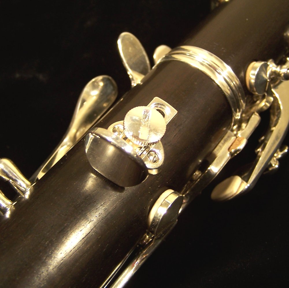 Silver king clarinet