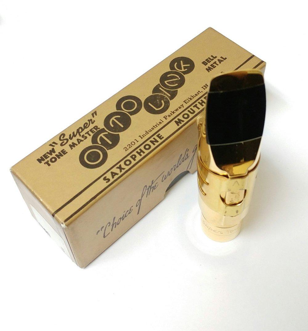 Otto Link Tone Master Vintage 10* Metal Tenor Saxophone Mouthpiece