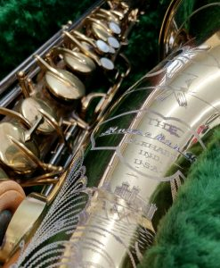 Vintage Buescher 400 Top Hat & Cane Tenor Sax