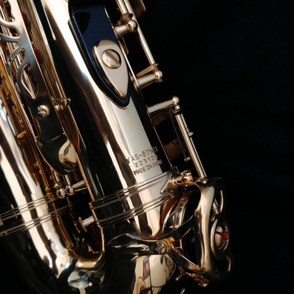 Yamaha yas 875ex custom alto sax with custom v1 neck for Yamaha yss 875ex