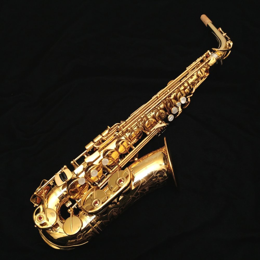 Yamaha yas 875ex custom alto sax with custom v1 neck for Yamaha yas 875