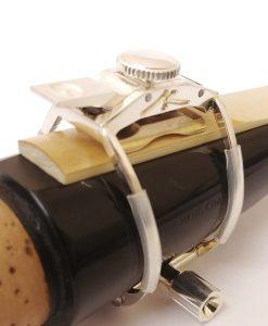 AK Clarinet Ligature - Silver Plate