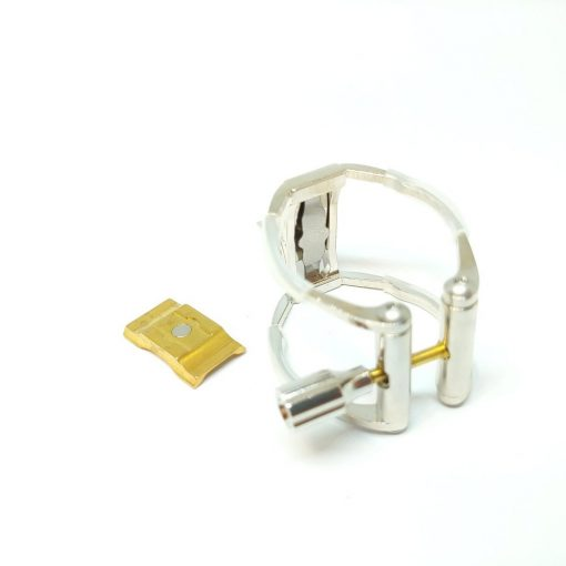 AK Clarinet Ligature - Rhodium Plated