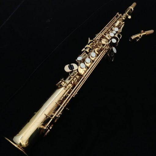 Antigua Soprano Sax - 3286LQ, Dual Neck, High F#