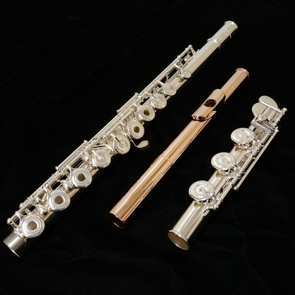 01dddc1abc38 Pearl Quantz 665 Flute with Rose Gold Plated, Sterling, Forza Headjoint!