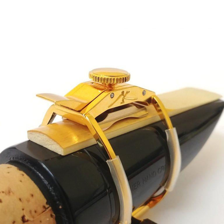 AK Ligatures - Gold Plated Clarinet Ligature