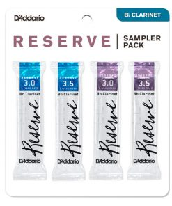 D'Addario Reserve Clarinet Reed Sample Card