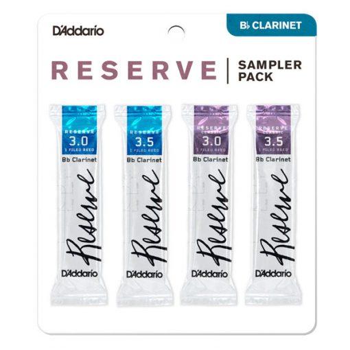 D'Addario Reserve Clarinet Reed Sample Card