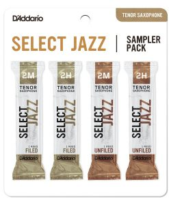 D'Addario Select Jazz Tenor Sax Reed Sampler Card