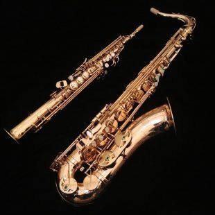 Kessler Custom Pro Tenor & Intermediate Soprano Sax Bundle