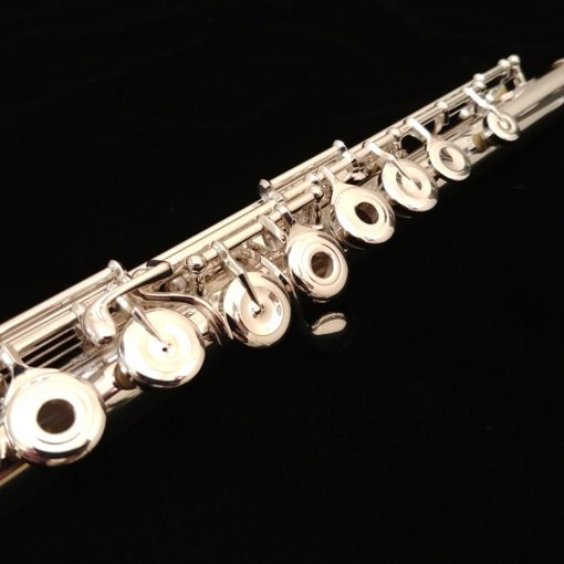 Pearl 665 Quantz Flute with 18k Rose Gold Plated Brezza Headjoint