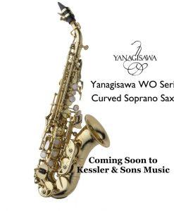 Yanagisawa WO Series Curved Soprano Sax - SCWO10