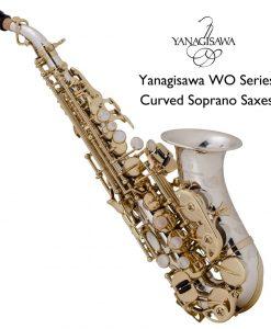 Yanagisawa WO Series Curved Soprano Sax - SCWO37