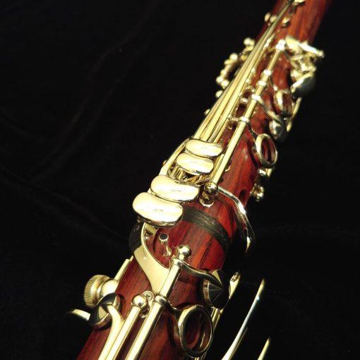Backun Lumiere Clarinet - Bb, Cocobolo with Silver Keys