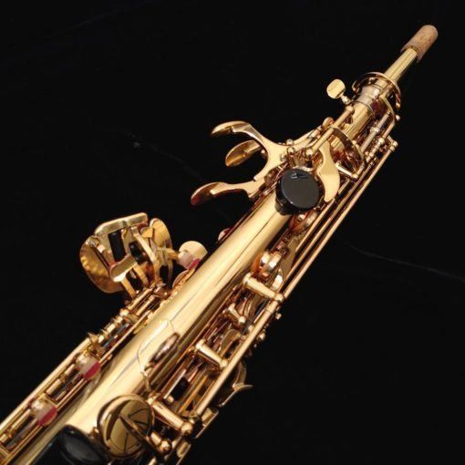 Lightly Used Yamaha Custom EX Soprano Sax – YSS-875EXHG - 003441