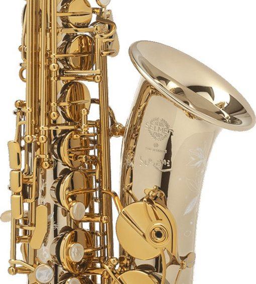 Selmer Paris Supreme Alto Sax - Solid Silver