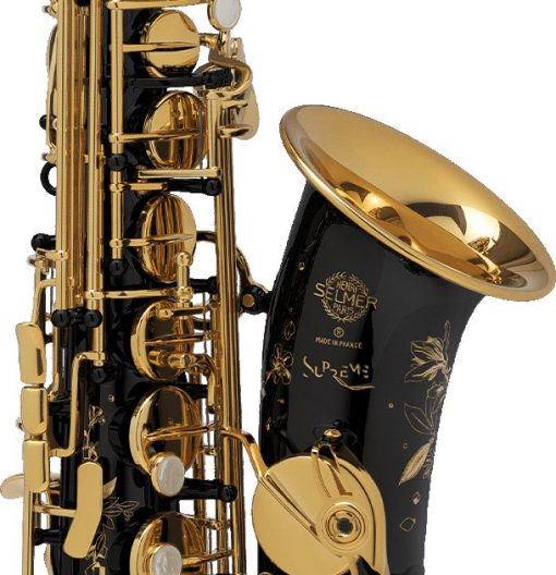 Selmer Paris Supreme Alto Sax - Black Lacquer