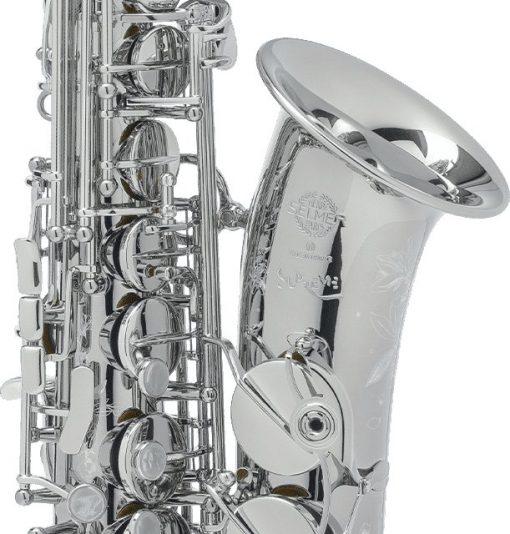 Selmer Paris Silver Plated Supreme Alto Sax