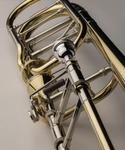 S.E. Shires Q Series Bass Trombone TBQ36YA with Dual Axial Valves