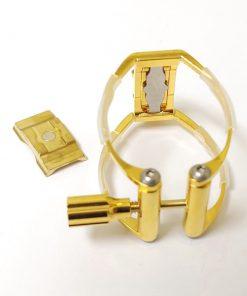 AK Ligatures - Gold Plated Clarinet Ligature (Gen 2)
