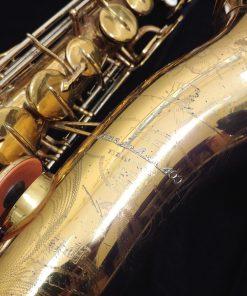 1949 Buescher 400 Top Hat & Cane Tenor Sax B11 - 317404
