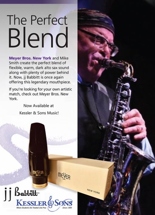Meyer Connoisseur Alto Sax Mouthpiece - Meyer Bros New York