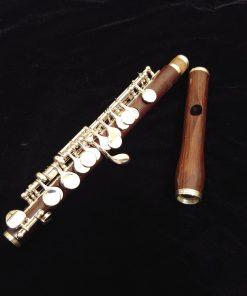 Philipp Hammig 651/4 Piccolo - Cocus Wood & Sterling Keys