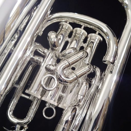 K. Custom Artist Series Silver Compensating Euphonium