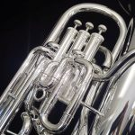 K. Custom Artist Series Compensating Euphonium in Silver