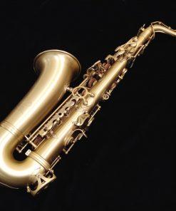 Kessler Custom Standard Series Alto Sax - Brushed Matte Antique