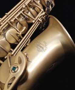 Kessler Custom Standard Series Alto Sax - Brushed Matte Antique