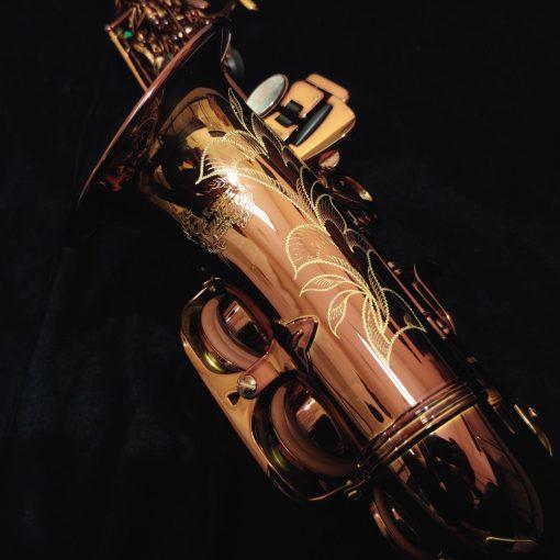 Kessler Custom Performance Series Curved Soprano Dark Lacquer - Blem