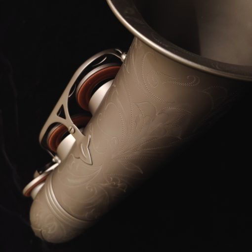 Kessler Custom Desert Deluxe Alto Sax - Satin Black Finish