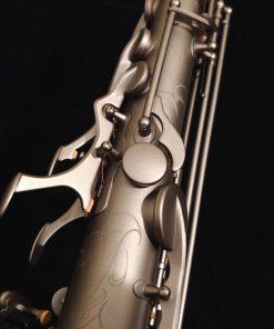 Kessler Custom Desert Deluxe Tenor Sax - Satin Black Finish
