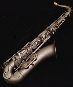 Kessler Custom Desert Deluxe Tenor Sax - Satin Black Finish