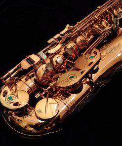 Kessler Custom Standard Series Alto Sax - Dark Lacquer