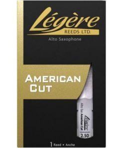Legere American Cut Alto Sax Reed - 2.5