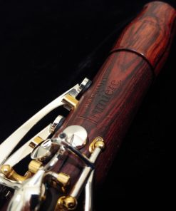 Backun Lumiere Clarinet - Cocobolo, Silver Keys, Gold Posts, Silver Tubes