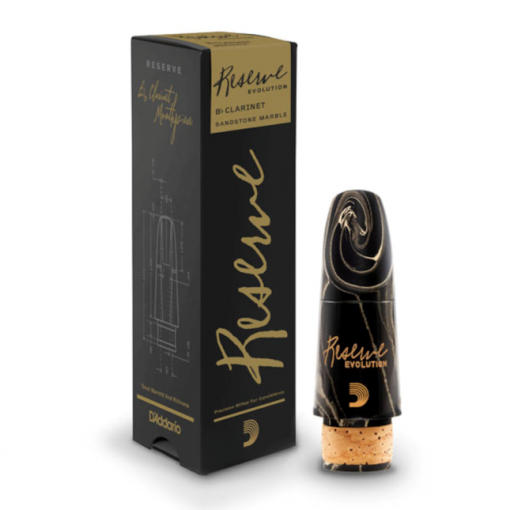 D'Addario Reserve Evolution Clarinet Mouthpiece - Marbled