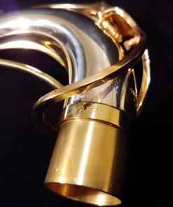 ORNTWO30 - Yanagisawa Solid Silver Tenor Sax Neck (no engraving)