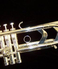 Getzen Genesis Trumpet - Bright Silver Plate